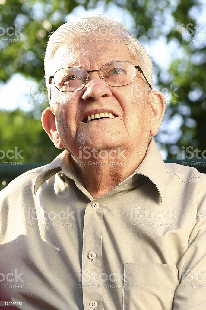 Senior Series: Sunny Day royalty-free stock photo