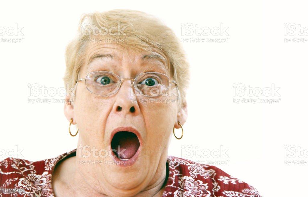 senior - shock stock photo