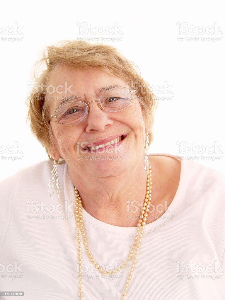 senior - smile royalty-free stock photo