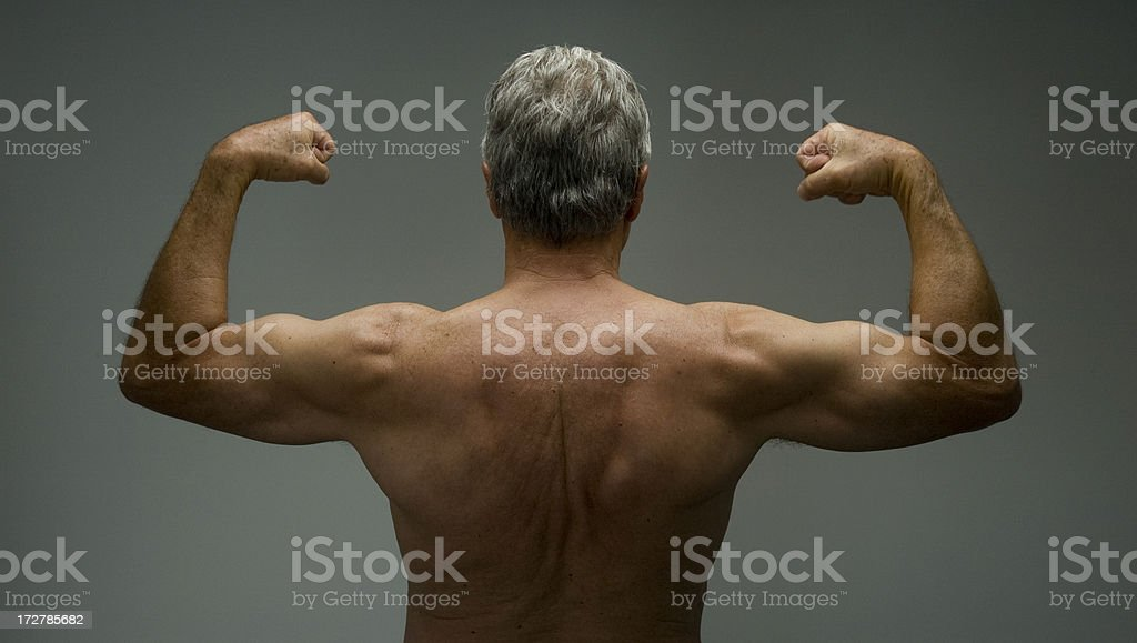 Senior Strength and Health royalty-free stock photo