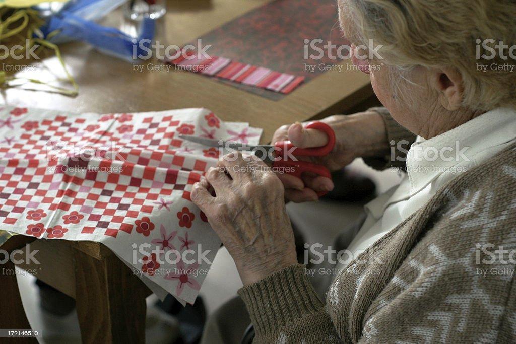 senior womans royalty-free stock photo