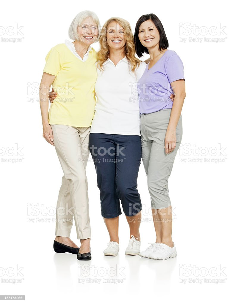 Senior Women - Isolated royalty-free stock photo