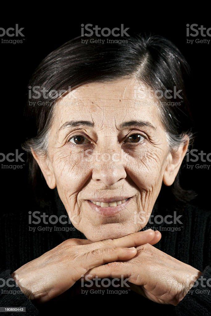 senior women, real human adult photo stock photo