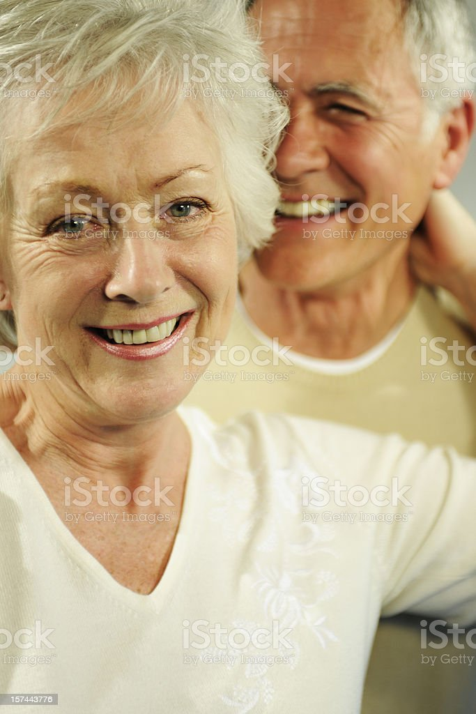 seniors royalty-free stock photo
