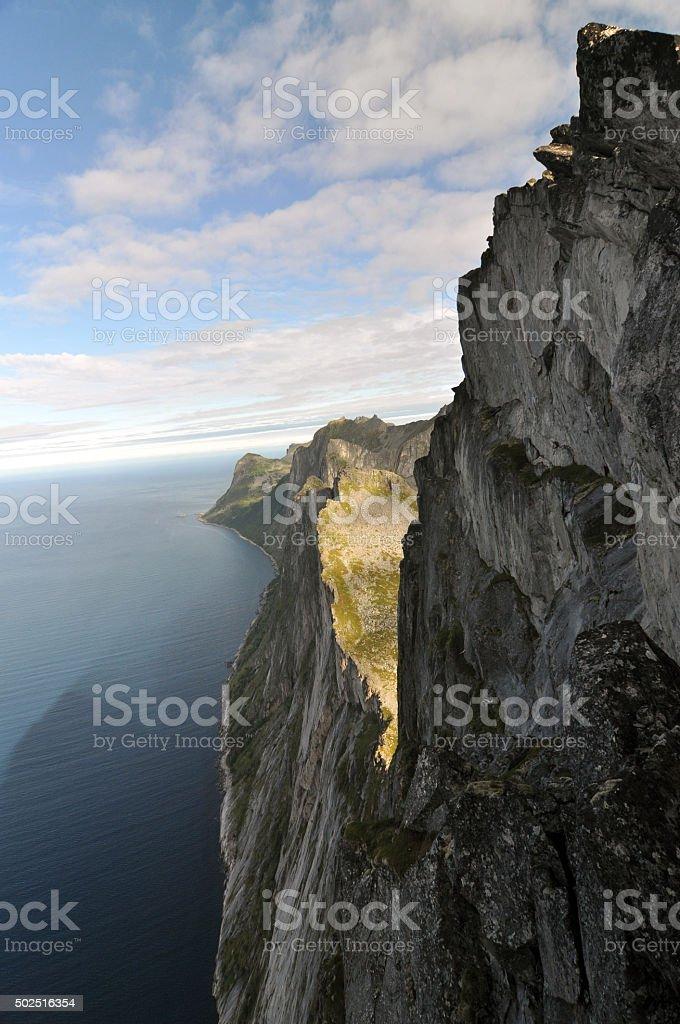 Senja, Norway, Norwegian nature stock photo