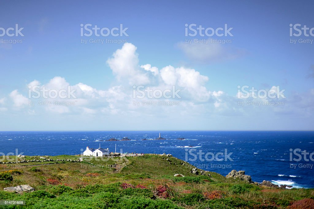 Sennen Cove to Lands End stock photo