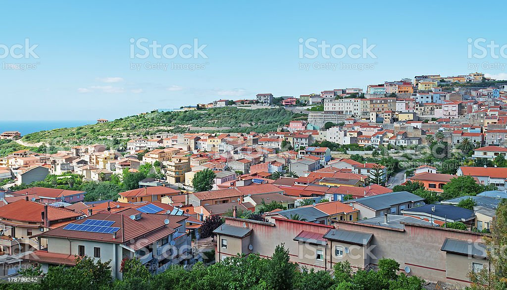 Sennori landscape royalty-free stock photo