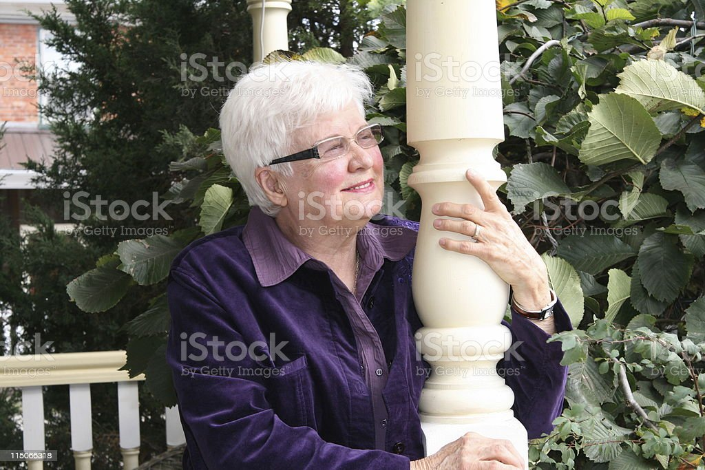 Sensational Senior stock photo