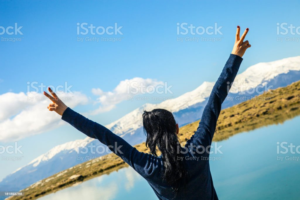 Sense of freedom royalty-free stock photo