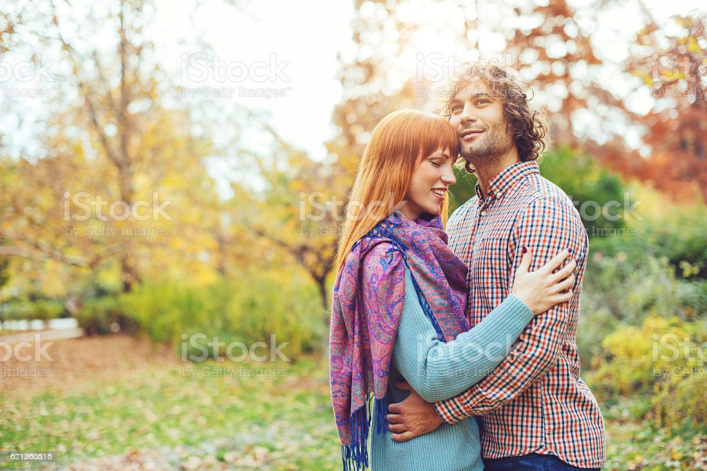 Sense of security with loved ones stock photo