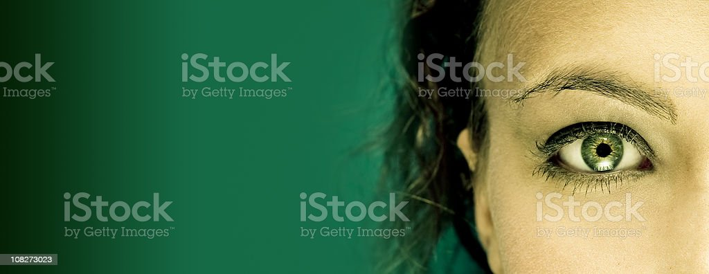Senses royalty-free stock photo