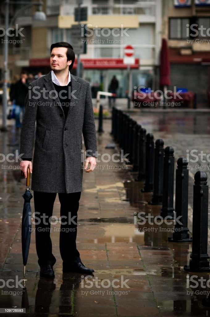 Sensible City Man royalty-free stock photo
