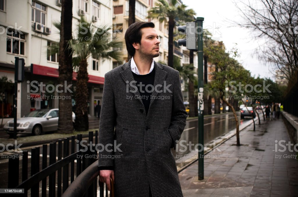 Sensible City Man royalty-free stock photo