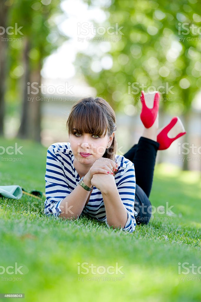 Sensitive beauty royalty-free stock photo