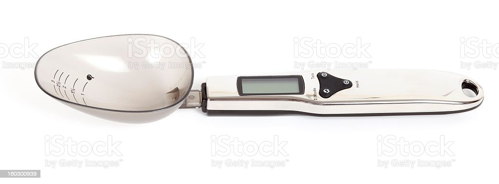 Sensitive Weighing royalty-free stock photo