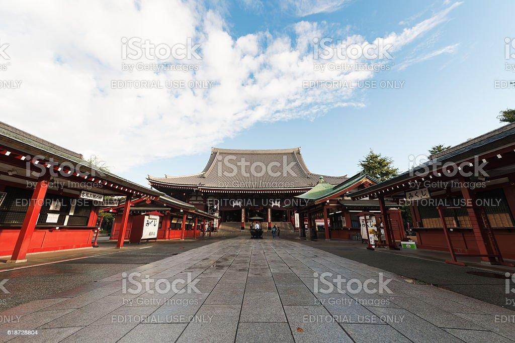 Sensoji Temple in Tokyo, Japan stock photo