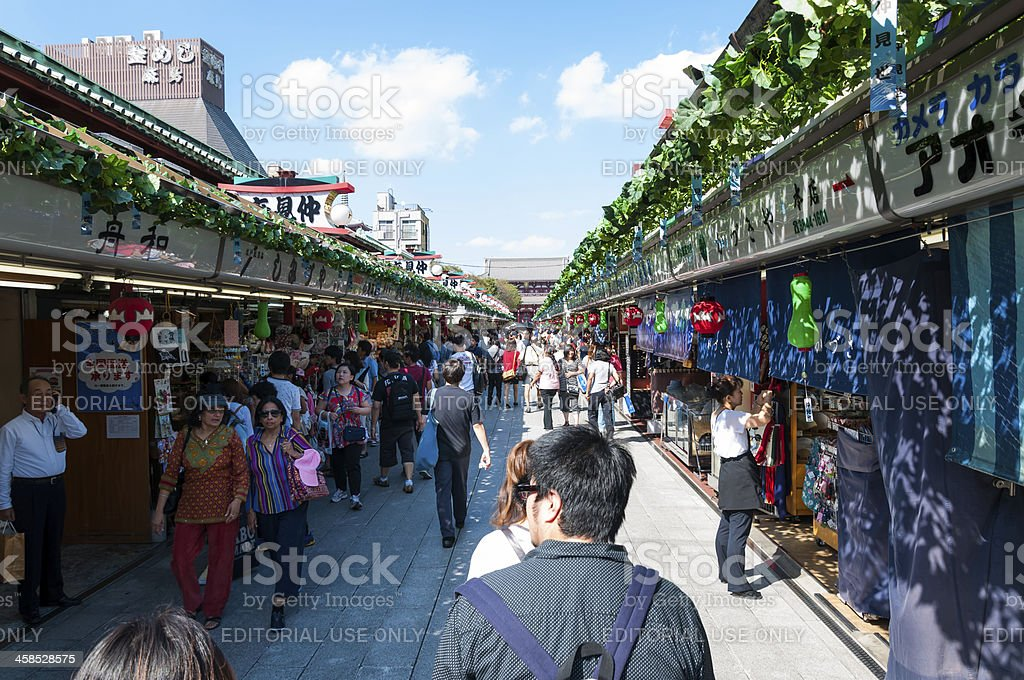 Sensoji Temple royalty-free stock photo