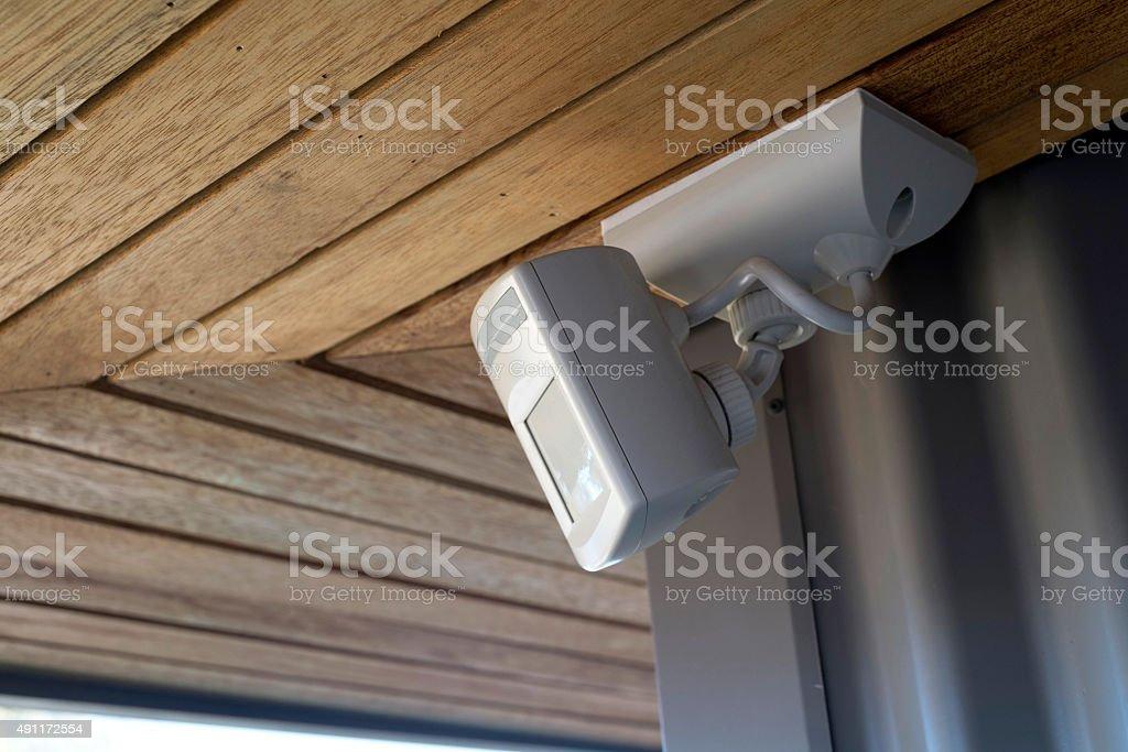 Sensor light stock photo