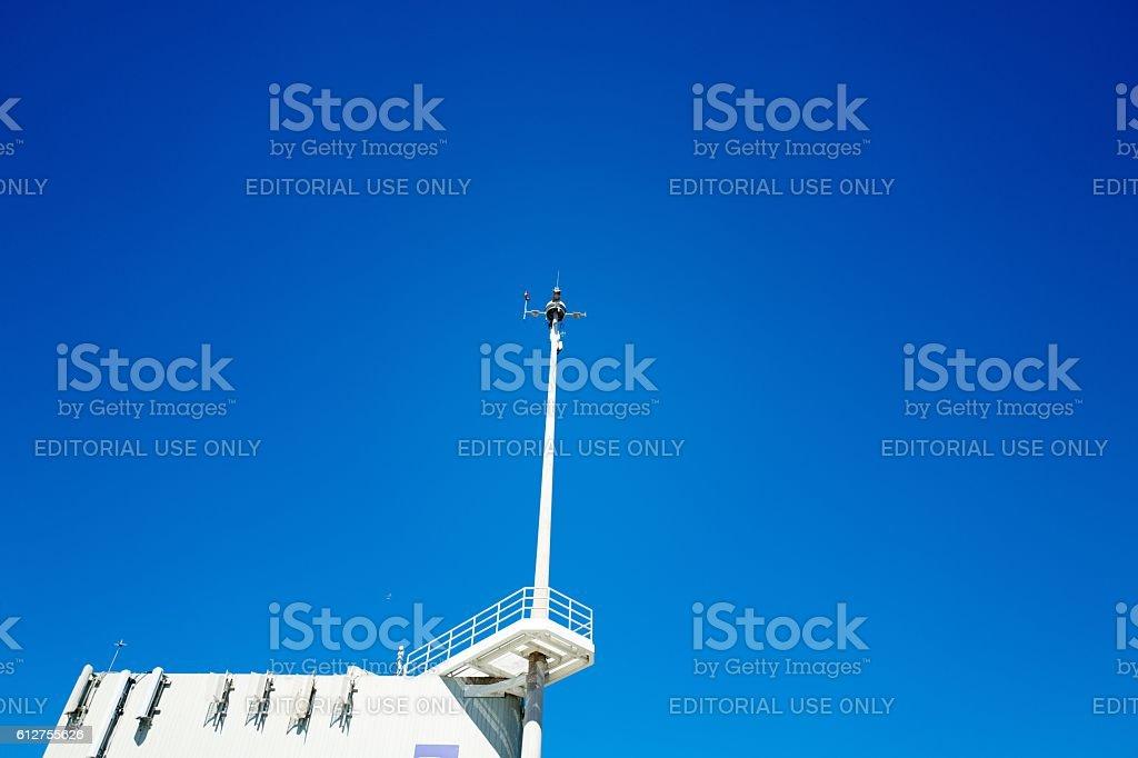 Sensor Mast stock photo
