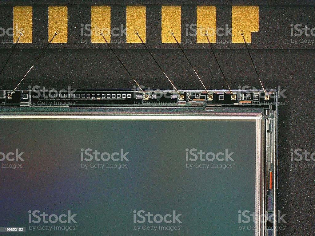 CCD sensor stock photo