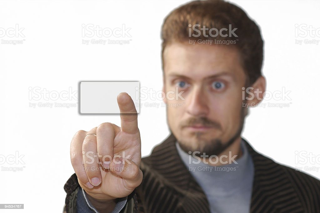 Sensoric keyboard royalty-free stock photo
