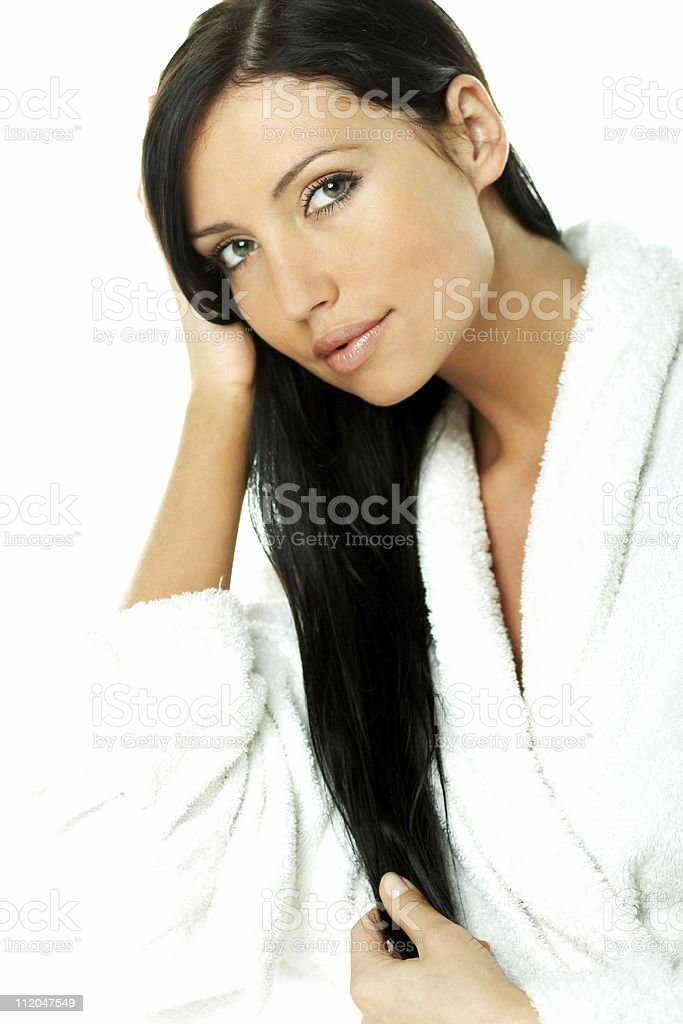 Sensual and Fresh royalty-free stock photo