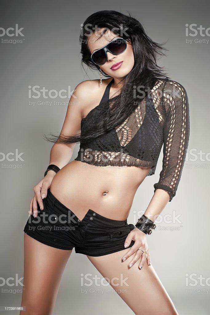 Sensual and hot girl royalty-free stock photo
