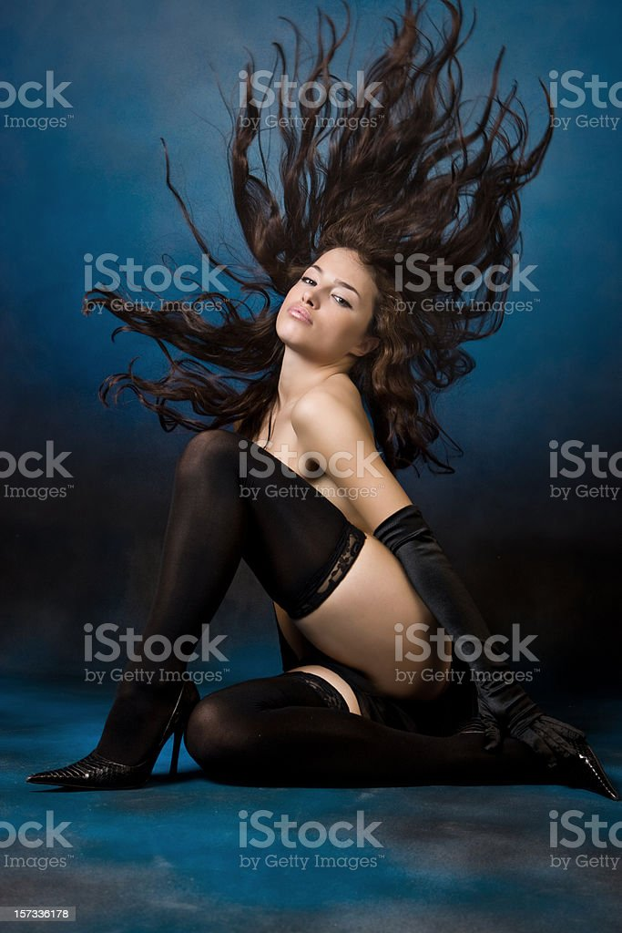 Sensual beauty royalty-free stock photo