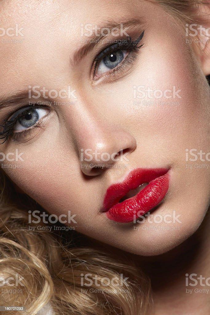 sensual blonde royalty-free stock photo