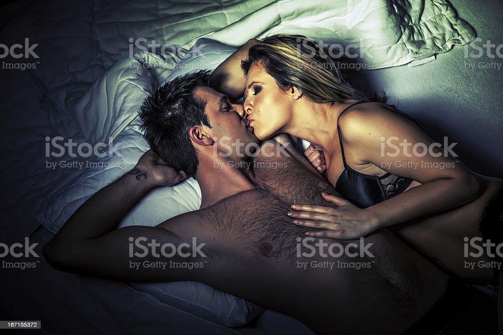 Sensual couple royalty-free stock photo