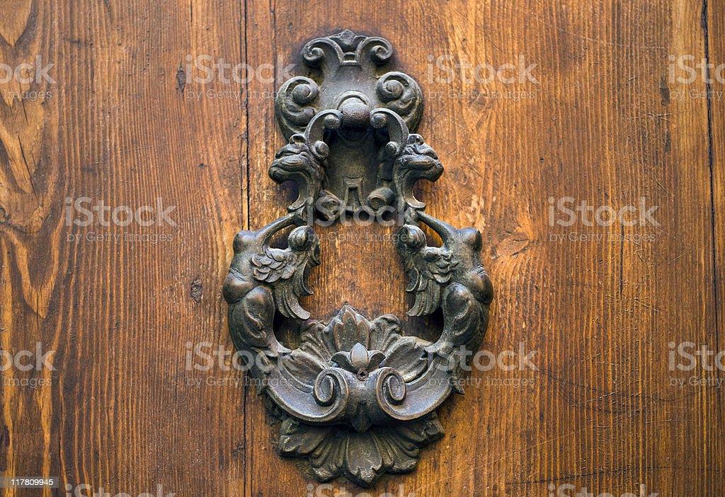 Sensual door knocker royalty-free stock photo