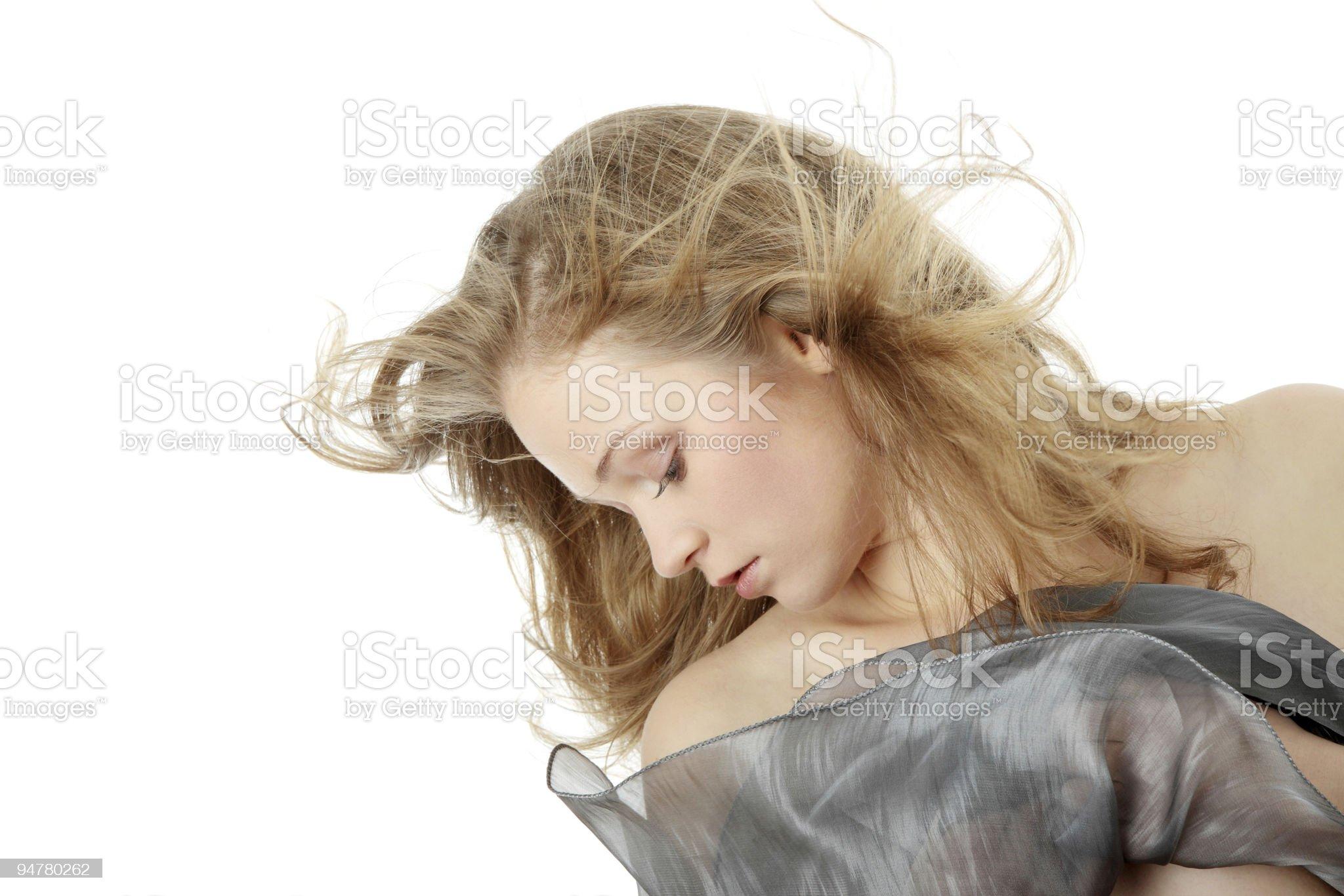 Sensual girl royalty-free stock photo