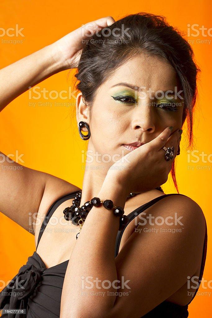Sensual Indian woman royalty-free stock photo