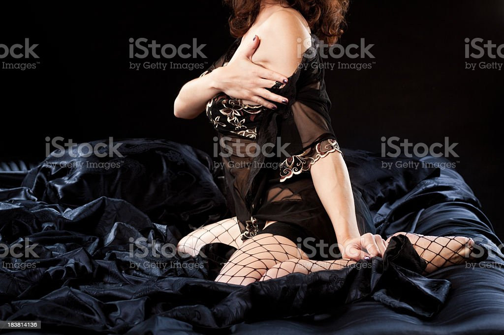 Sensual lady royalty-free stock photo