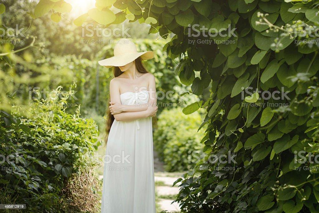 portrait de femme sensuelle photo libre de droits