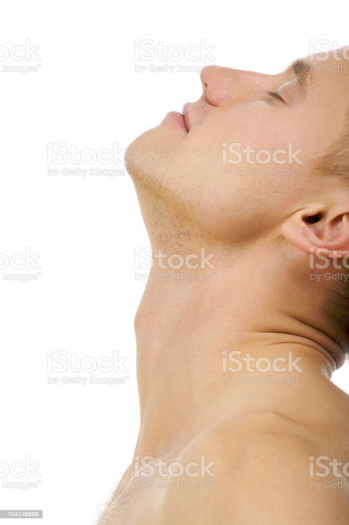 sensuality man royalty-free stock photo