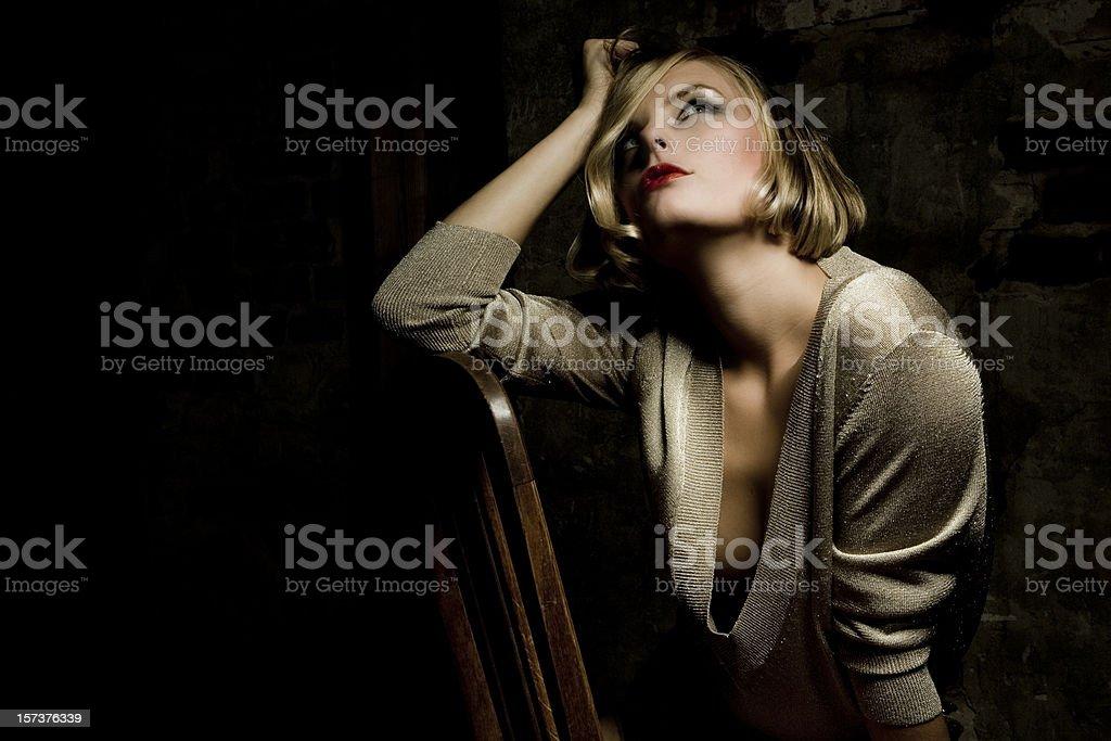 sensuality - portrait of a beautiful woman royalty-free stock photo