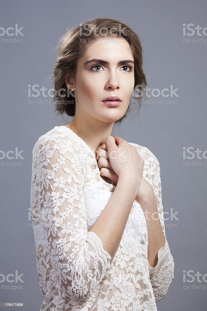 Sensuality portrait royalty-free stock photo