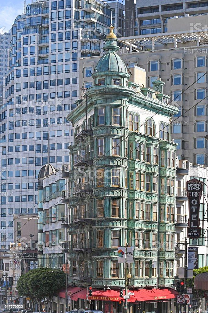 Sentinel Building, San Francisco, USA stock photo