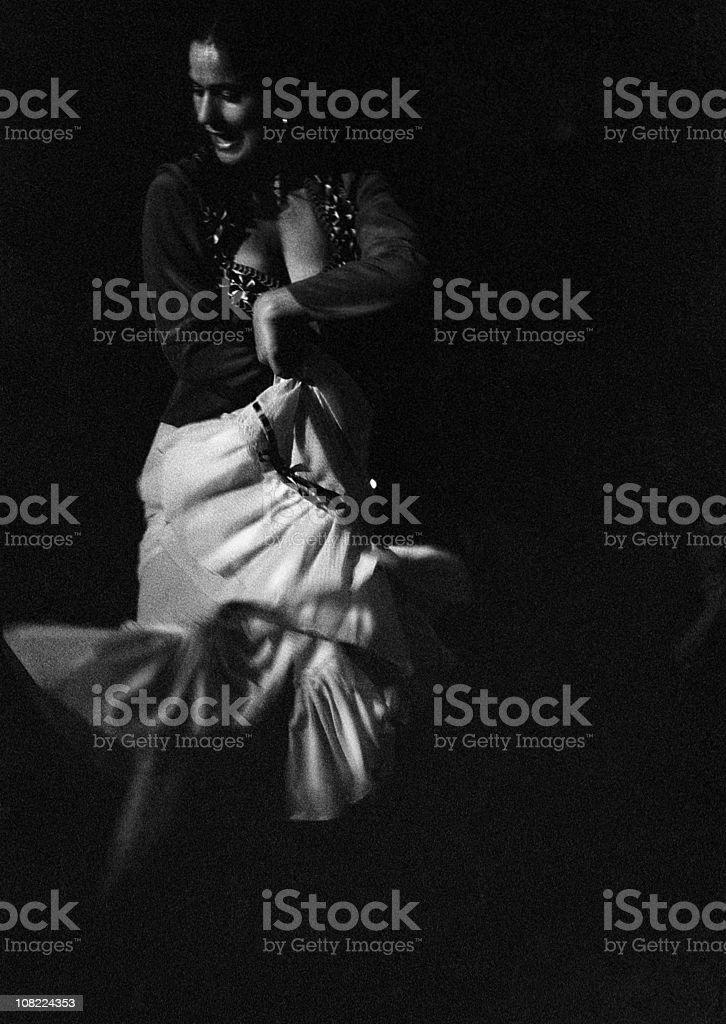 Sentir flamenco stock photo