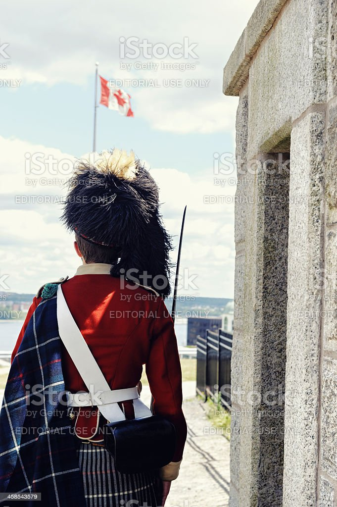 Sentry guard royalty-free stock photo