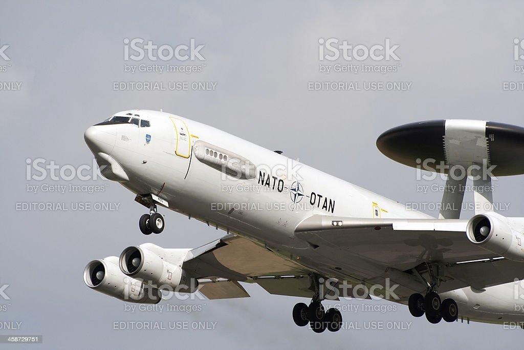 NATO E-3 Sentry stock photo