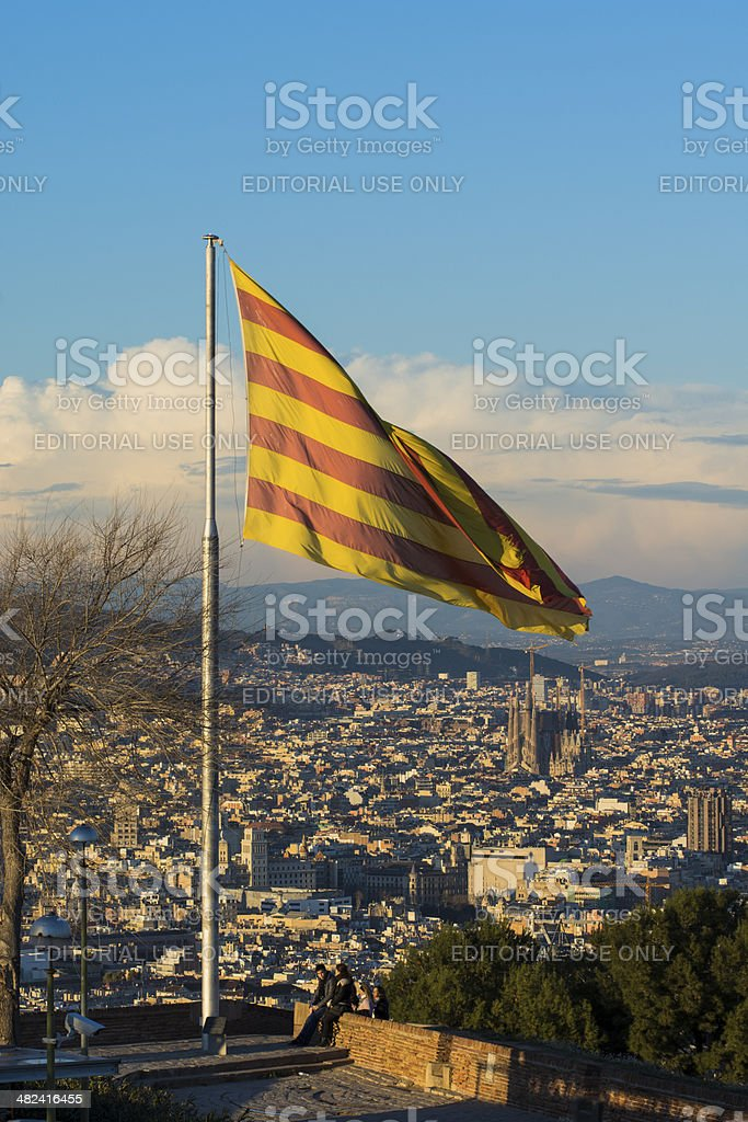 Senyera stock photo