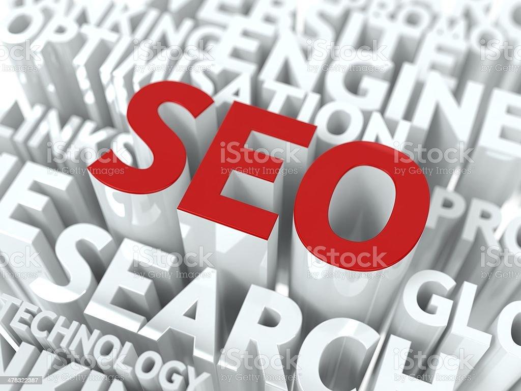 Seo Concept. royalty-free stock photo