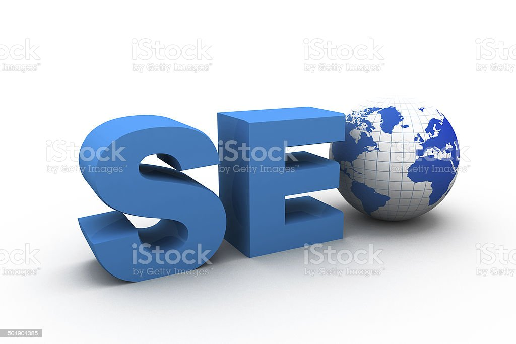 Seo, Search optimization concept stock photo