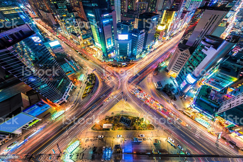 Seoul From Above stock photo