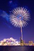 Seoul International Fireworks Festival in Korea.