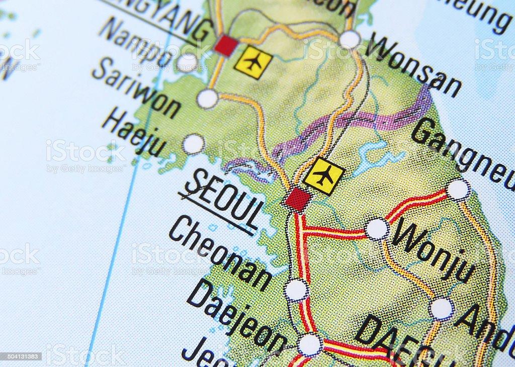Seoul stock photo