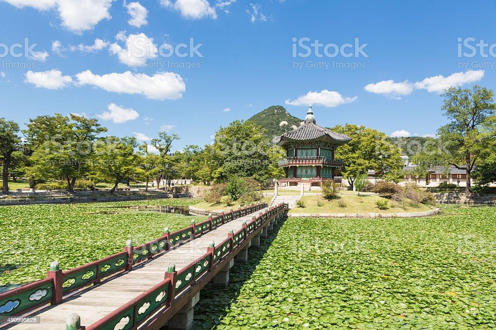 Seoul Royal Palace stock photo