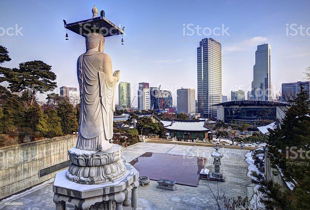 Seoul Skyline stock photo